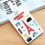 NOT YOU BAG Luggage Tag Travel Accessories Silica Gel Suitcase ID Address Holder Baggage Boarding