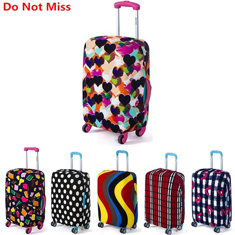 New 2017 Travel Luggage Suitcase Protective Cover Suitcase Dust Covers Box Sets Travel