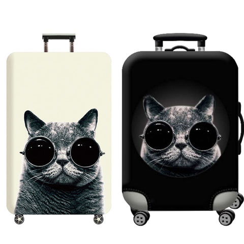 Travel Accessories Luggage Cover Suitcase Protection Baggage Dust Cover Trunk Set Trolley Case