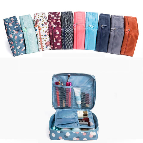 Travel bags set Organizer duffle Weekend Folding Makeup bag Luggage Packing Cubes For woman and man