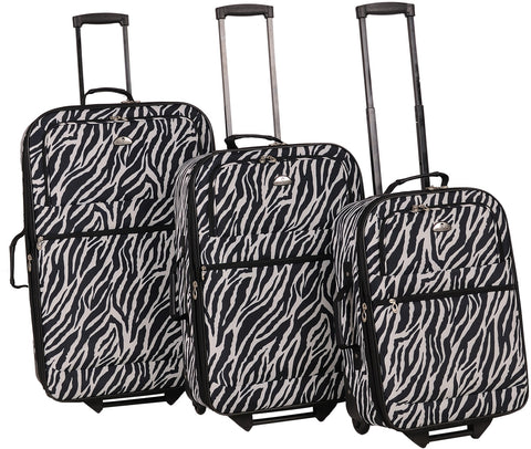 American Flyer Safari 3 Piece Luggage Set