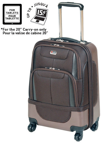 Mancini Bristol2 Hybrid 20in Expandable Spinner Carry On