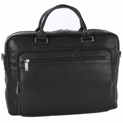 "Kenneth Cole Reaction ""Port Of History"" Single Gusset Top Zip Computer Case"