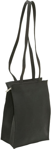 LeDonne Leather Small Simple Dual Strap Tote Bag