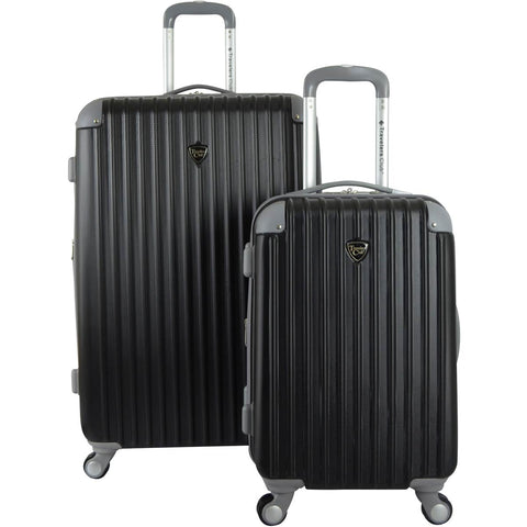 Travelers Club Chicago II 2PC Hardside Expandable Spinner Luggage Set