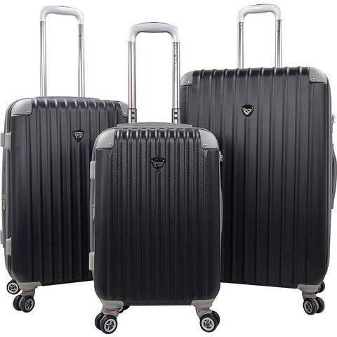 Travelers Club Chicago 2.0 3PC Hardside Expandable Double-Spinner Luggage Set