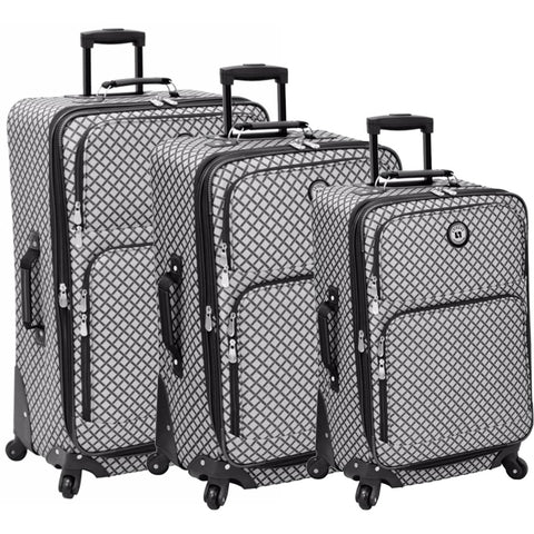 Leisure Luggage Lafayette 3 Piece Luggage Set