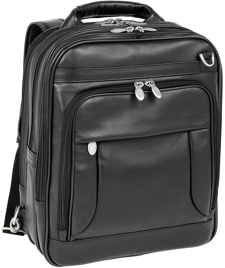 McKlein i Series Lincoln Park Leather Three-Way Computer Briefpack