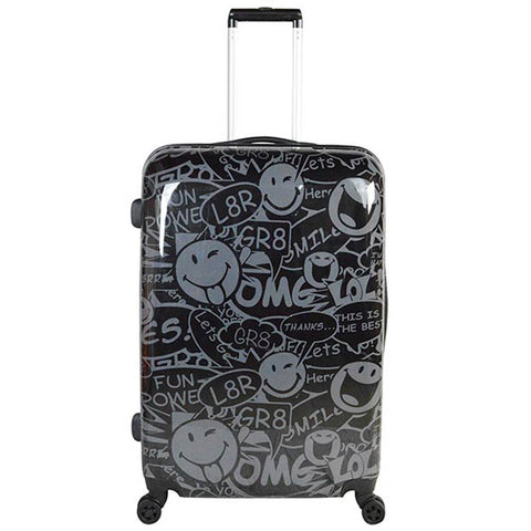 ATM Luggage Smiley World Stealth 26