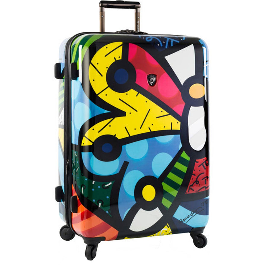 Britto Butterfly 26in Expandable Spinner - Luggage Factory