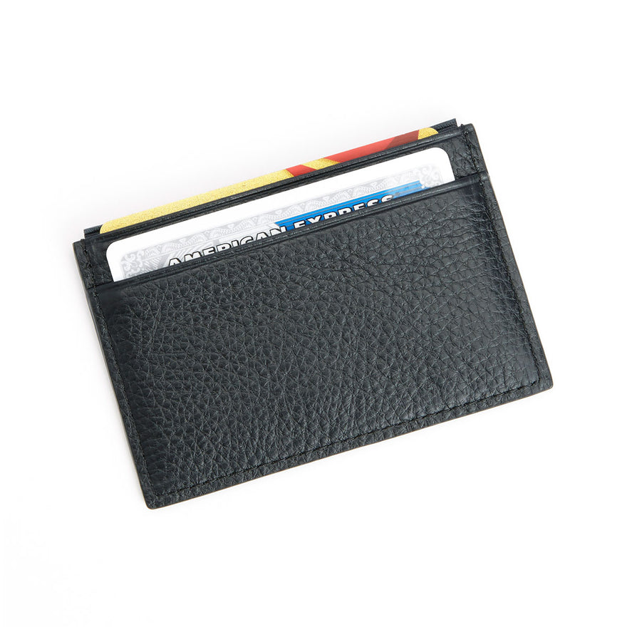 Royce Leather Itialian Leather Credit Card Wallet with RFID Blocking