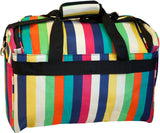 Jenni Chan Multi Stripes City Duffel