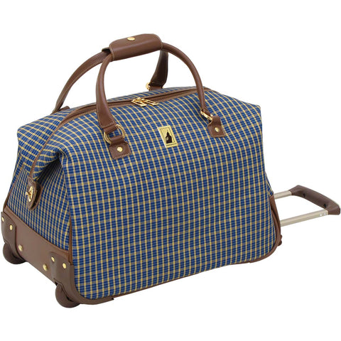 London Fog Kensington 20in Wheeled Club Bag
