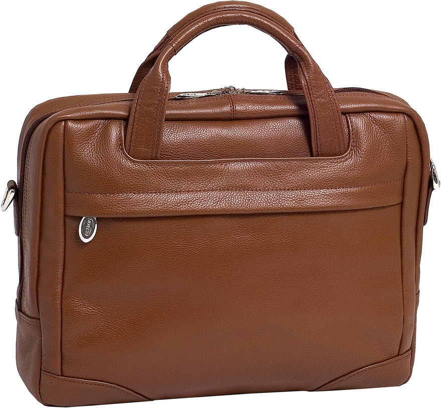 McKlein S Series Montclare Leather Small Netbook Laptop Case