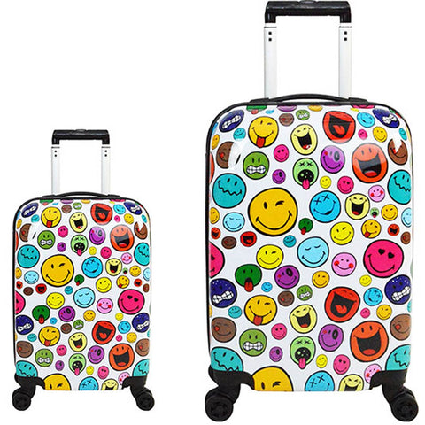 ATM Luggage Smiley World Celebration 2pc Set
