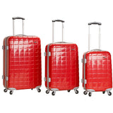Rockland Luggage Celebrity 3 Piece Hardside Spinner Luggage Set