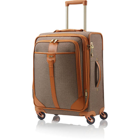 Hartmann Herringbone Luxe Carry On Expandable Spinner