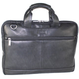 "Kenneth Cole Reaction ""Double-sided"" Double Gusset Top Zip Computer Case / iPad Case"
