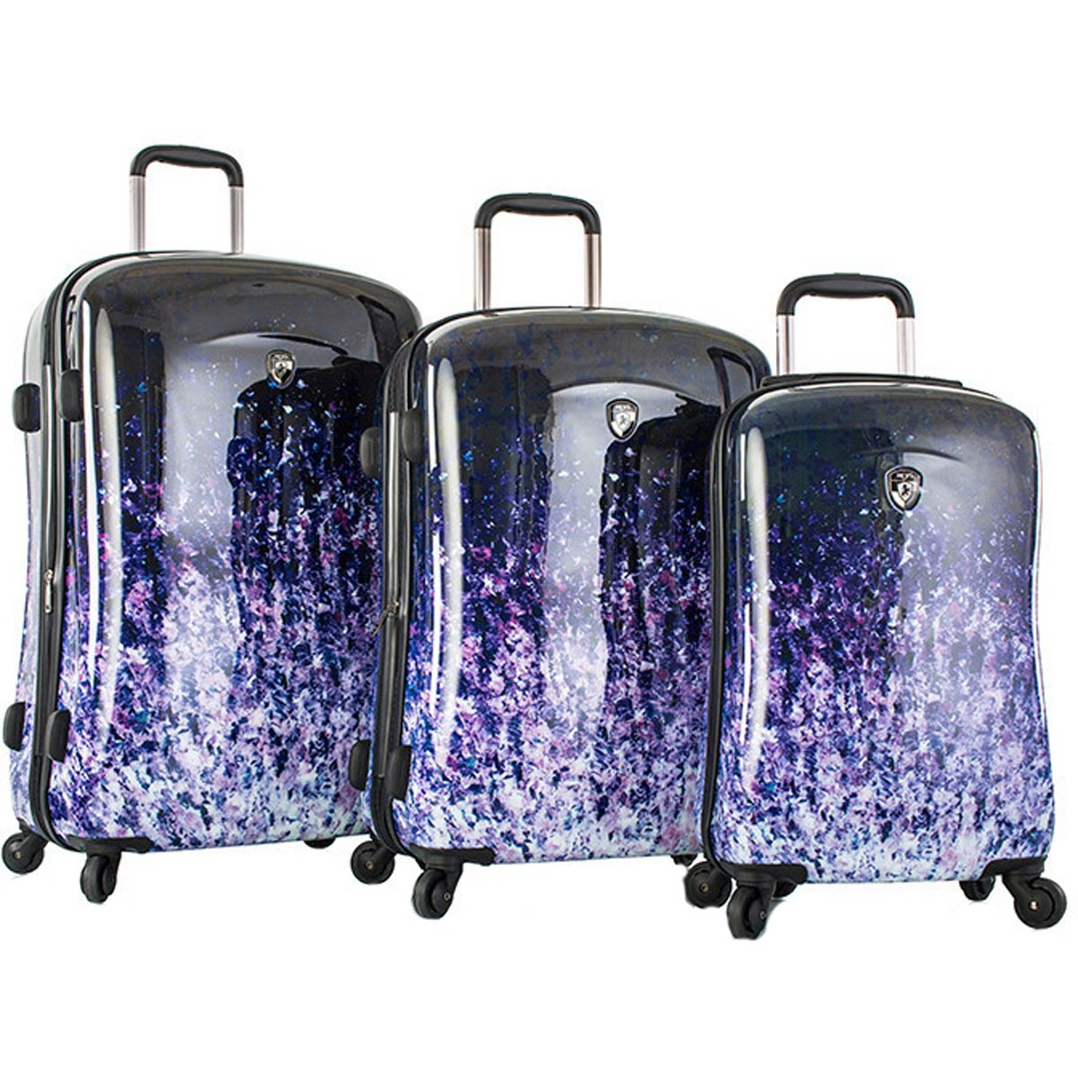 Heys Ombre Dusk 3 Piece Hardside Spinner Set