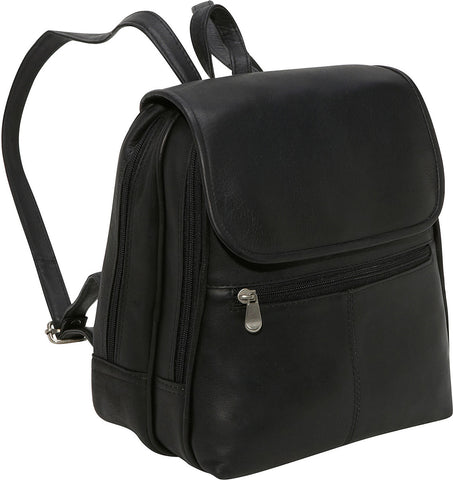 LeDonne Leather Everything Womans Backpack/Purse