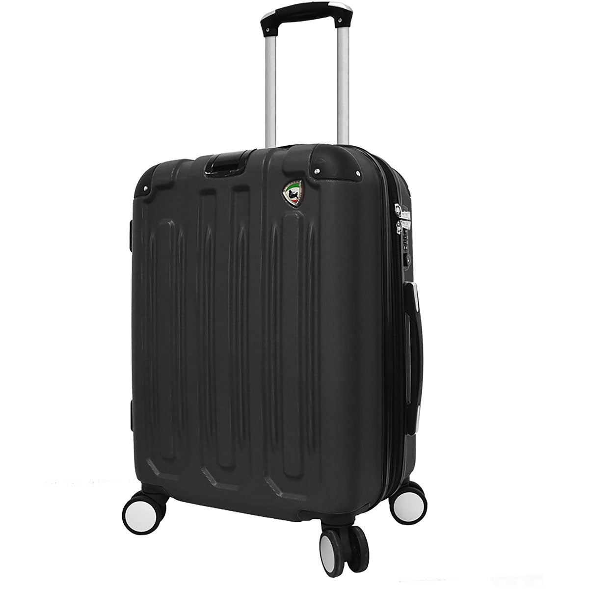 Mia Toro Metallo Composite Hardside Spinner Carry On