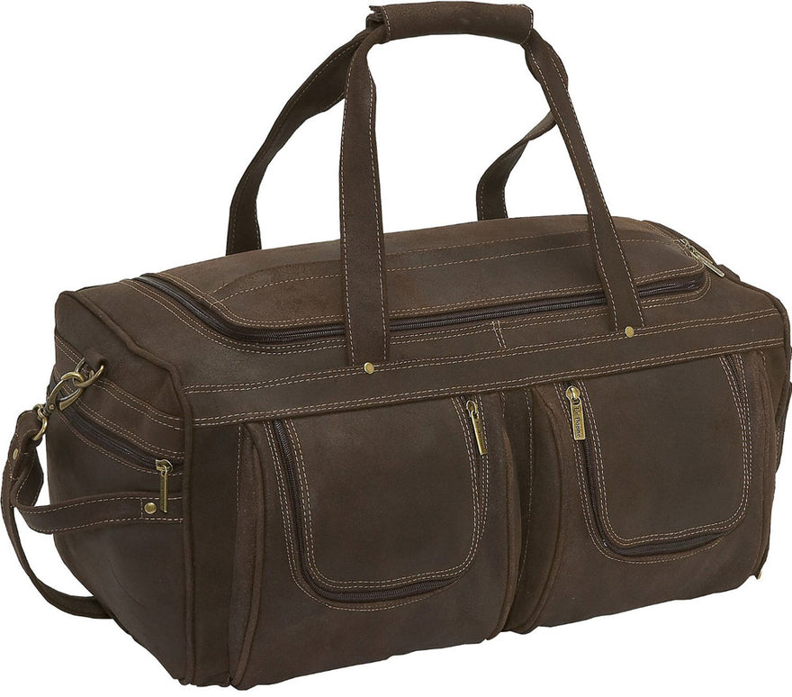 LeDonne Leather Distressed Duffel