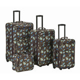 Rockland Luggage Nairobi 4 Piece Luggage Set