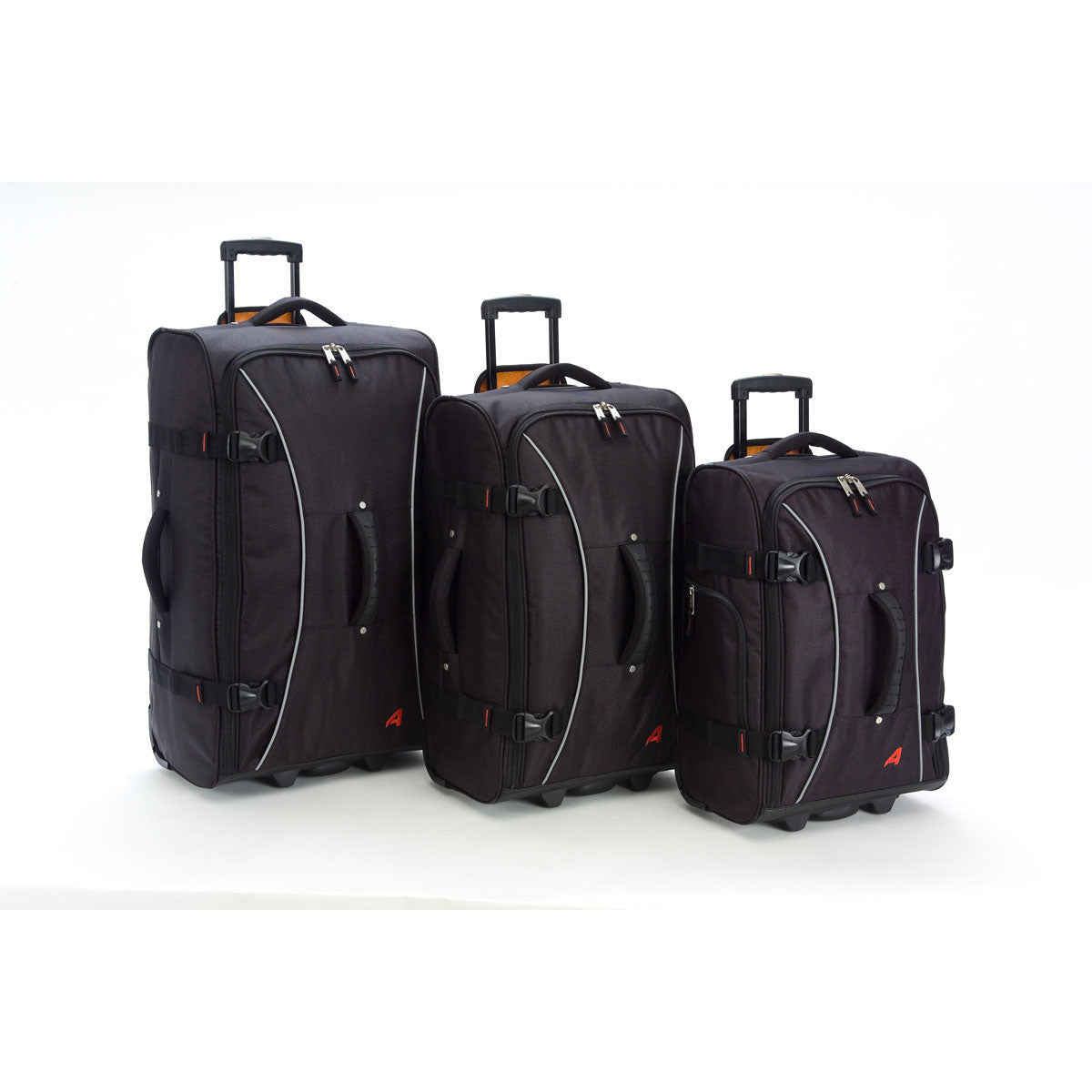 Athalon 3 Piece Hybrid Luggage Set