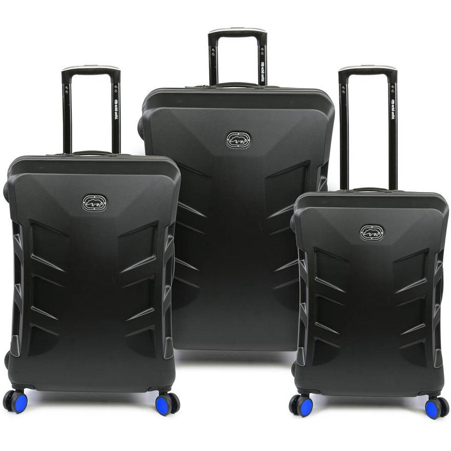 Ecko Unltd Hummel Exp Spinner Hardside 3 PC Luggage Set