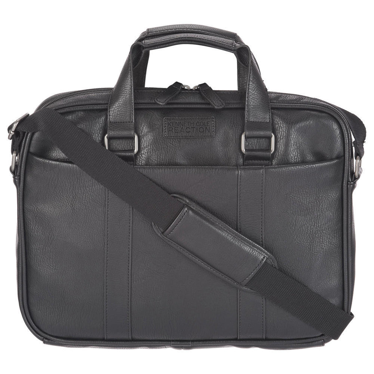 "Kenneth Cole Reaction ""The Grand Finale"" Slim Single Gusset Top Zip iPad / Tablet / Computer Case"