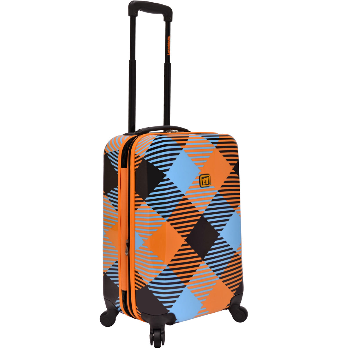 Loudmouth Microwave 22in Hardside Expandable Carry On Spinner