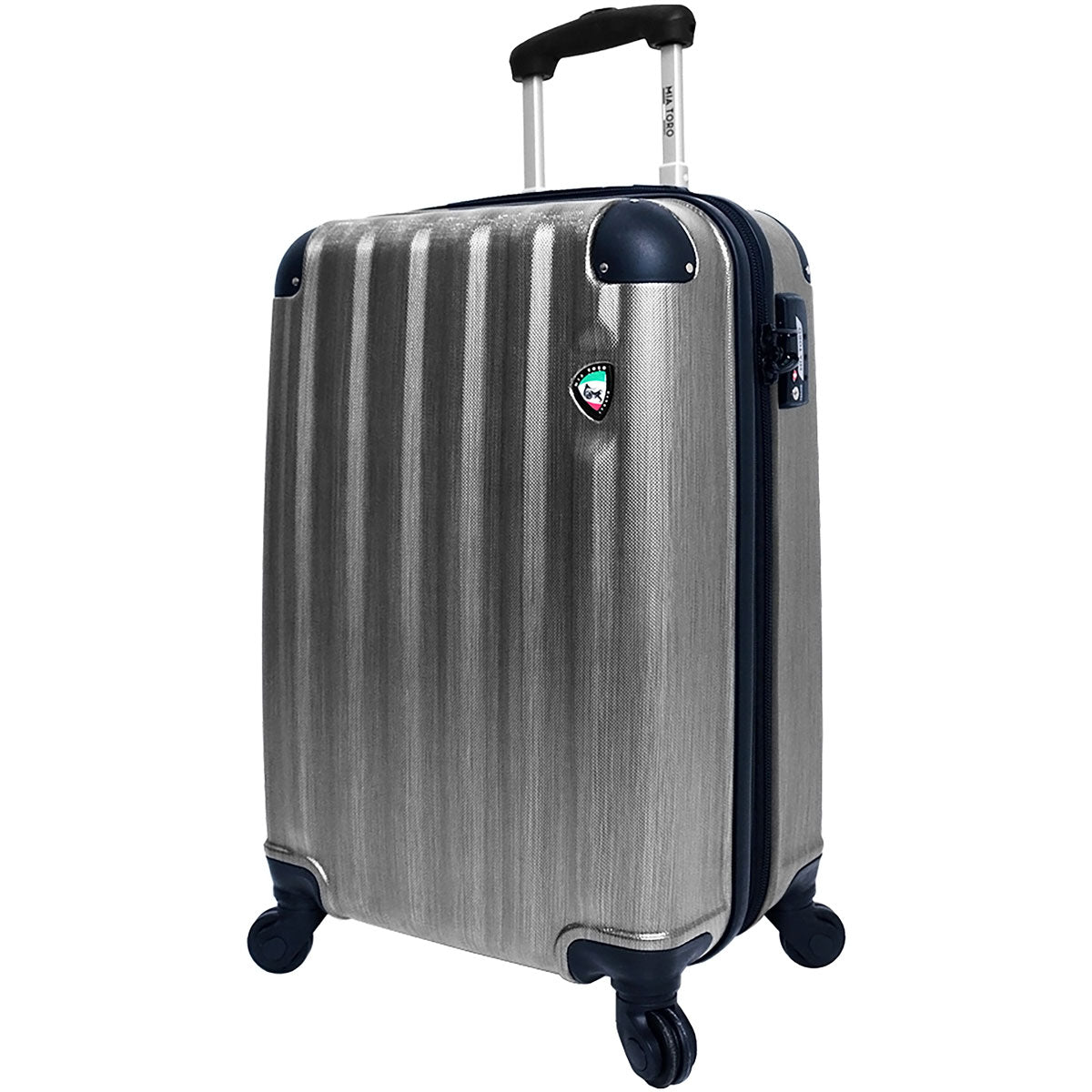 Mia Toro Lega Spazzolato Hardside 25in Spinner - Luggage Factory