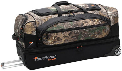 Pathfinder Gear-Up Realtree X-tra 26in Drop Bottom Duffel