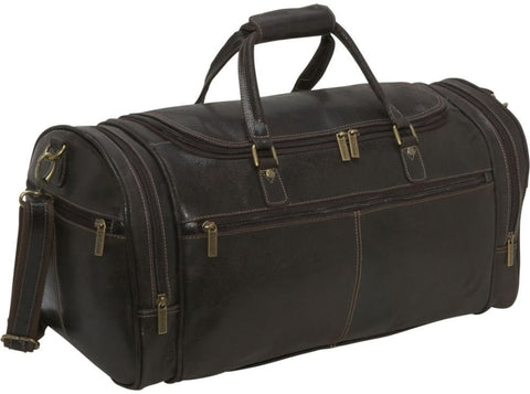 LeDonne Leather Distressed Overnighter Duffel