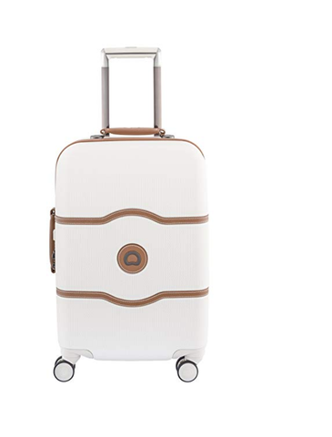 Delsey Luggage Chatelet Hard+ 28 Inch 4 Wheel Spinner, Champagne