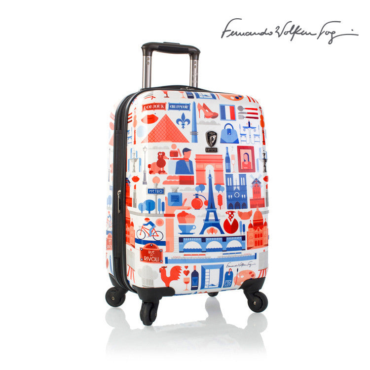Fernando by Heys FVT 21in Cities Expandable Spinner Paris
