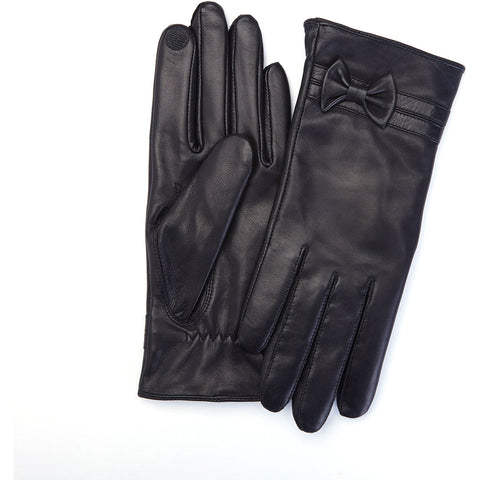 Royce Leather Premium Women's Lambskin Touchscreen Gloves - Large