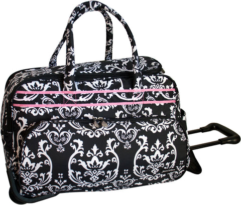 Jenni Chan Damask Carry All Duffel
