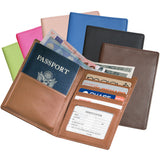 Royce Leather Bifold Wallet and Passport Travel Document Organizer