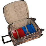 American Flyer Camo 5 Piece luugage set is stylish rugged looking ready for any travel trips.