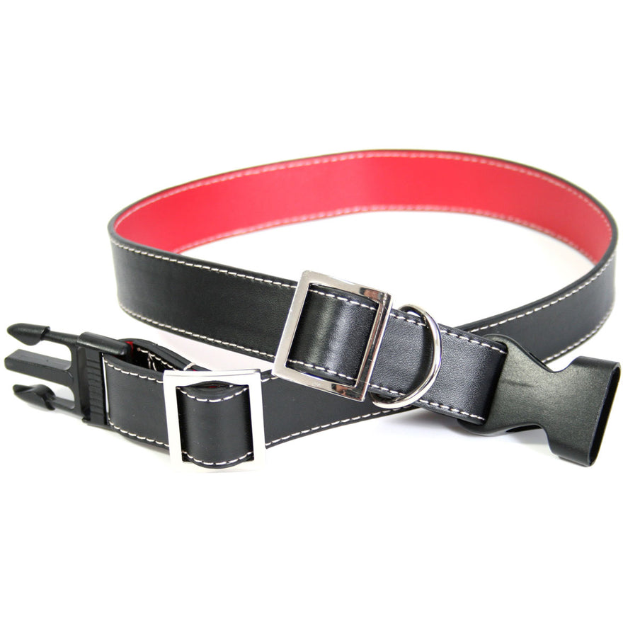 Royce Leather Large Dog Collar