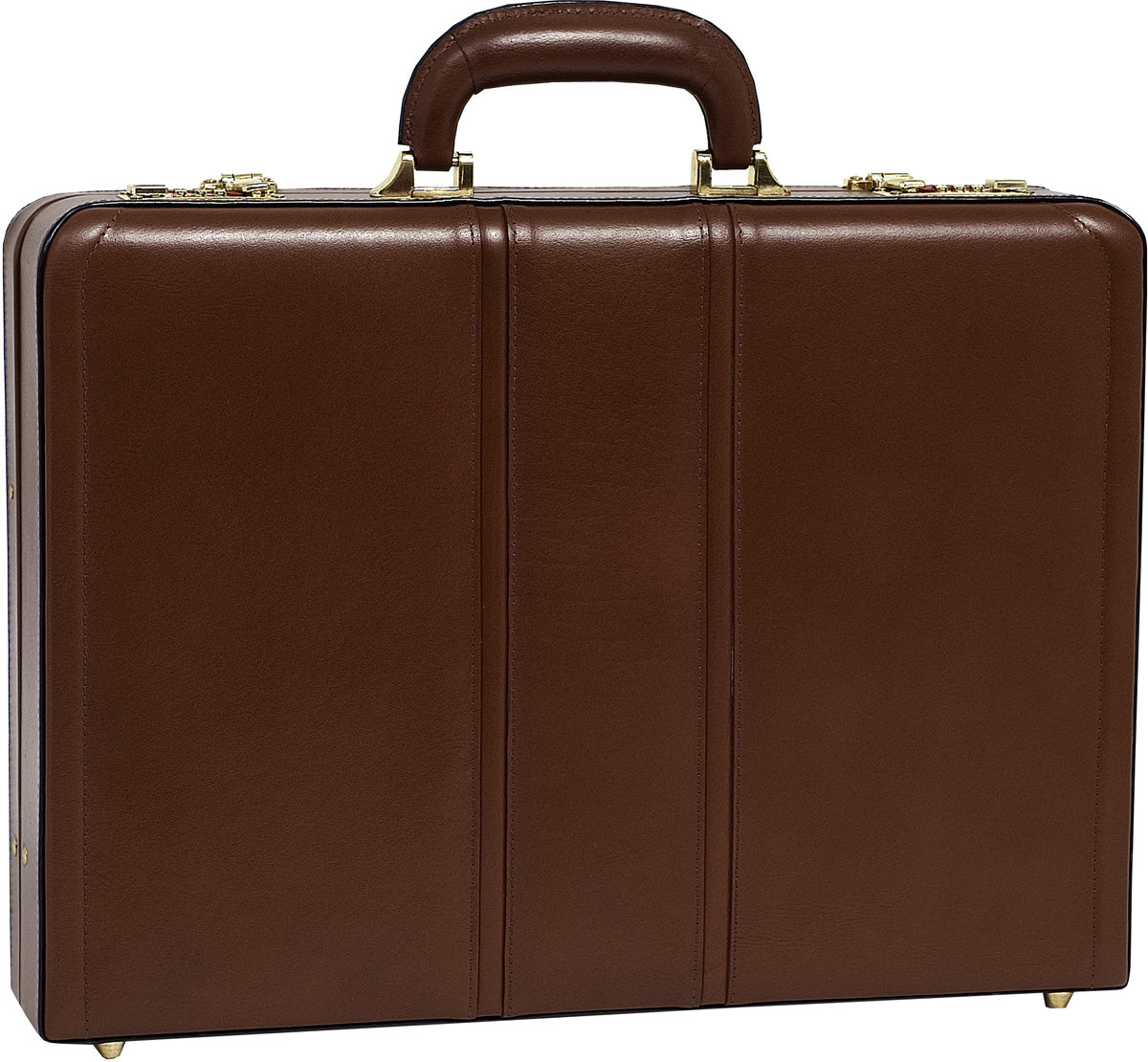 McKlein V Series Coughlin Leather Expandable Attache Case