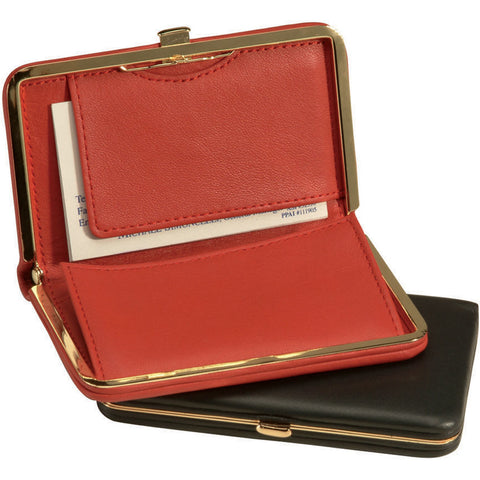Royce Leather Business Card Case Wallet