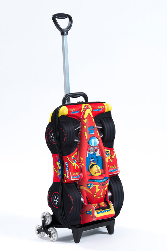 Maxi's Designs Super Power F1 3D Rolling Suitcase - Luggage Factory