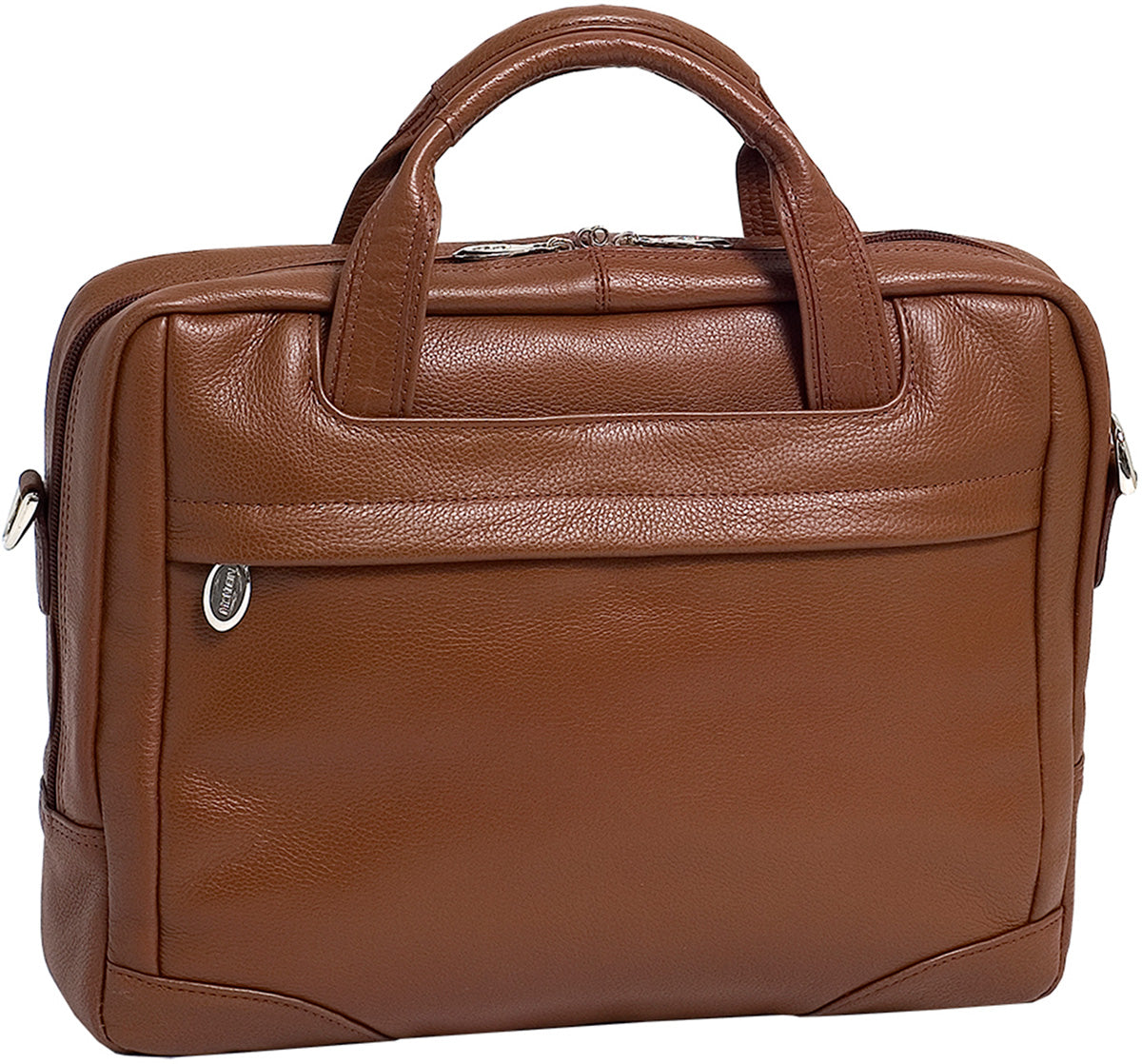 McKlein S Series Bridgeport Leather Large Laptop Brief