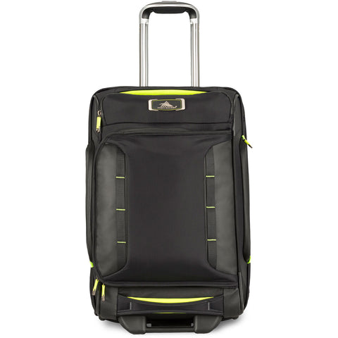 High Sierra AT8 Carry On Wheeled Duffel Upright