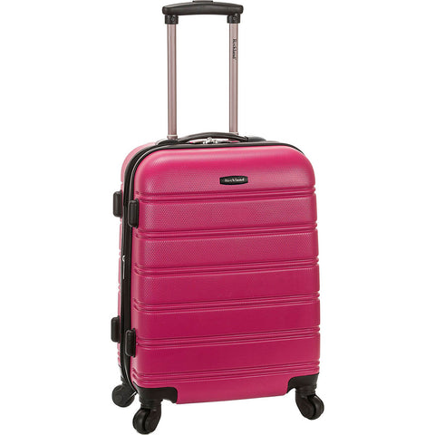 Rockland Luggage Melbourne 20in Hardside Expandable Spinner Carry On