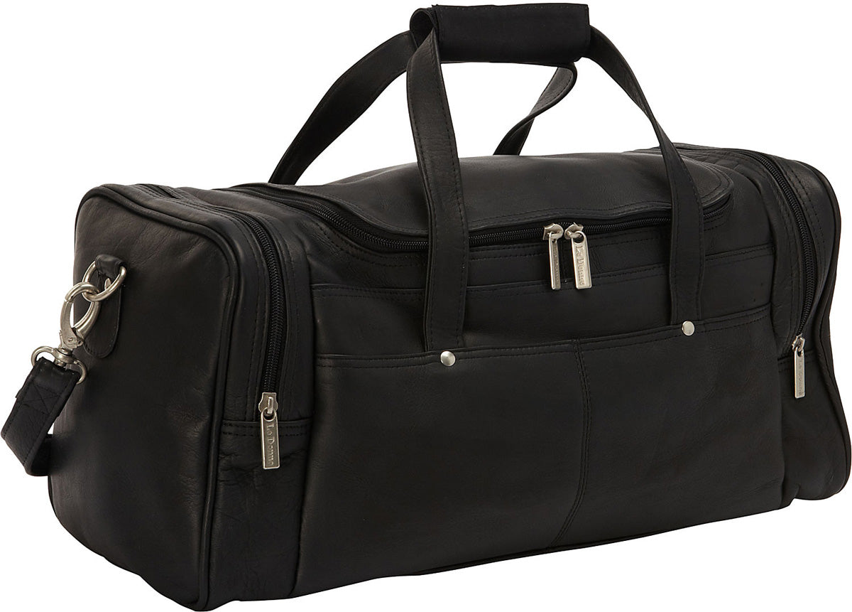 LeDonne Leather Hayden Duffel Bag