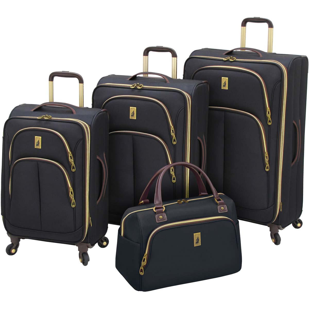 London Fog Coventry 4 Piece Luggage Set