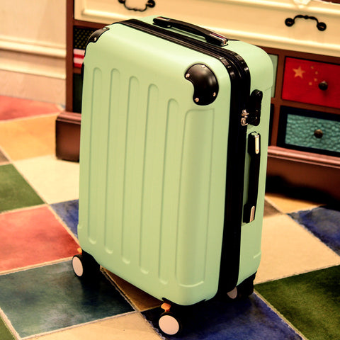 Luggage Female Universal Wheels Trolley Luggage Travel Bag Male Hard Case Luggage Bag 20 22 24 26